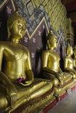 Places of worship and temple art of Thailand. Royalty Free Stock Photography