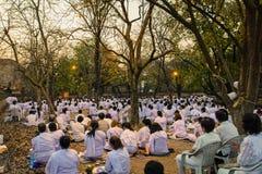Places Yom Kippur at Wat mahaeyong , Ayuthaya province of Thailand Royalty Free Stock Images