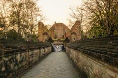 Places Yom Kippur at Wat mahaeyong , Ayuthaya province of Thailand Stock Photos