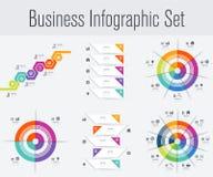 Placez avec l'infographics Photos libres de droits