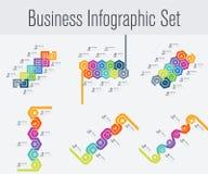 Placez avec l'infographics Image stock