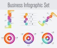 Placez avec l'infographics Photo libre de droits