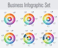 Placez avec l'infographics Photographie stock