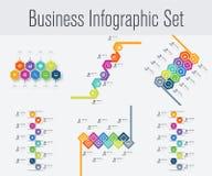 Placez avec l'infographics Image libre de droits
