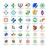 Placez de l'élément abstrait de logo pour le logo d'affaires et de technologie images libres de droits