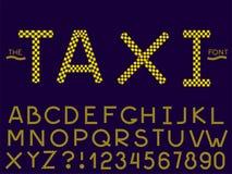 Placez de la police et de l'alphabet d'abr?g? sur vecteur illustration libre de droits