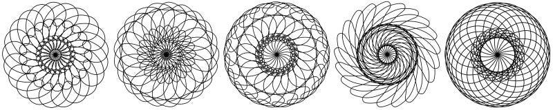 placez des éléments abstraits de cercles Dreamcatcher Astrologie, spiritualit?, symbole magique ?l?ment tribal ethnique illustration de vecteur