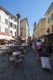 Placez DES Augustins, Aix-en-Provence, France Images libres de droits