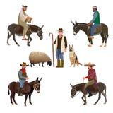 Placez des bergers de vecteur illustration libre de droits