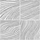 Placez des milieux abstraits des lignes illustration de vecteur