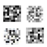 Placez du pixel a censuré des signes Barre noire de censeur illustration de vecteur