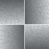 Placez Grey Circle Dotted Vector Background Illustration Libre de Droits