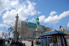 Placez Jacques Cartier, vieux Montréal photo stock