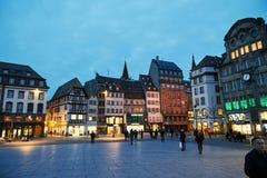 Placez Kelber, Strasbourg Photographie stock libre de droits