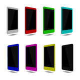 Placez l'écran tactile de smartphone, couleur Vecteur eps10 Photos libres de droits