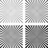 Placez l'art de bruit comique de fond de rayons légers de calibre Images libres de droits