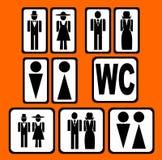 placez la carte de travail de sighns Image stock