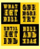 Placez la typographie pour le T-shirt, affiche, vecteur Illustration Libre de Droits