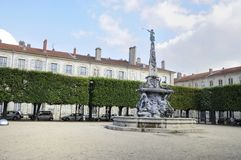 Placez le badinage, Nancy, France Images libres de droits