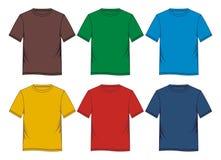 Placez le blanc de T-shirt Photographie stock