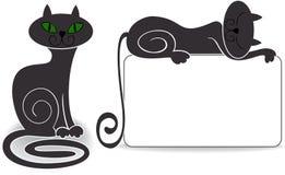 Placez le chat Images stock