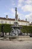 Placez le d'Alliance, Nancy, France Image stock
