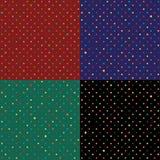 Placez le fond de point de polka de lapin Image libre de droits