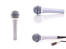 Placez le microphone Images libres de droits