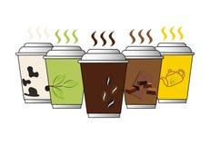 Placez le PE d'illustrateur de vecteur de tasse 2 Image stock