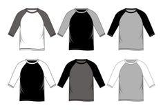 Placez le T-shirt raglan Image libre de droits