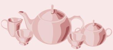 placez le thé Photographie stock