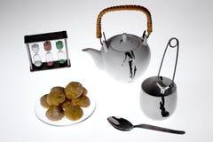 placez le thé Photos stock