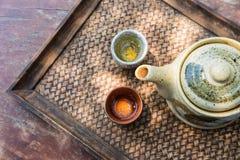 placez le thé Photo libre de droits