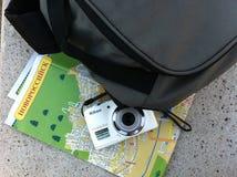 Placez le voyageur Photos stock
