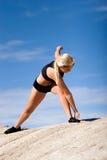 placez le yoga images stock