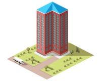 Placez les bâtiments de tuiles Photographie stock libre de droits