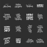 Placez les citations au sujet de la nouvelle année Photos libres de droits