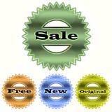 Placez les estampilles de vente Photos stock