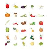placez les légumes illustration stock
