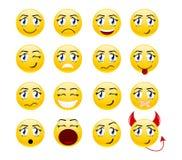 Placez les sourires illustration de vecteur