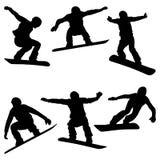 Placez les surfeurs d'athlètes Photographie stock libre de droits