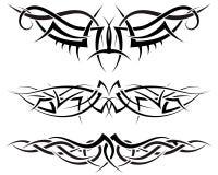 placez les tatouages Photo libre de droits