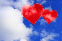 Placez les valentines fond, coeur, amour de Saint Valentin Image stock
