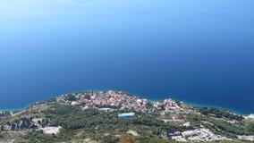 Placez Nemira, Dalmatie photos libres de droits