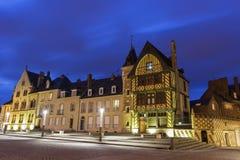 Placez Notre Dame à Amiens dans les Frances Image stock
