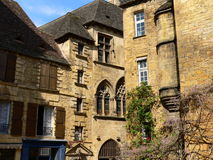Placez Oies aux., Sarlat-La-Caneda (France) Photos libres de droits