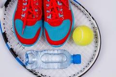 Placez pour le tennis Images stock