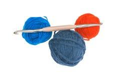 Placez pour le tricotage. Images libres de droits
