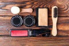 Placez pour les appareils-photo de nettoyage se composant de plusieurs objets Photo stock