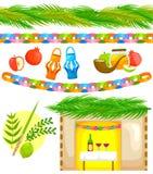 Placez pour Sukkot illustration stock
